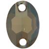 Swarovski 3210 Oval Sew-on Crystal Bronze Shade 10x7mm