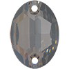 Swarovski 3210 Oval Sew-on Crystal Satin 10x7mm
