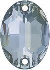 Swarovski 3210 Oval Sew-on Crystal Blue Shade 24x17mm