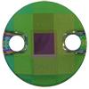Swarovski 3220 Round Chessboard Sew-on Dark Moss Green Purple Haze 10mm