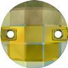 Swarovski 3220 Round Chessboard Sew-on Crystal Iridescent Green 10mm