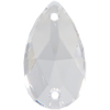Swarovski 3230 Drop Sew-on Crystal (Unfoiled) 28x17mm