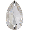 Swarovski 3230 Drop Sew-on Crystal 28x17mm