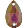 Swarovski 3230 Pear Rhinestones 28x17 Crystal Lilac Shadow