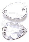 Swarovski 3232/2 Pear Shaped Sew-on Crystal 10x7mm