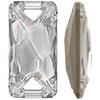 Swarovski 3251 Space Cut Sew-on Crystal 30x15mm