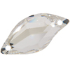 Swarovski 3254 Diamond Leaf Sew-on Crystal 20x9mm