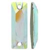 Swarovski 3255 Cosmic Baguette Sew-on Crystal AB 26x8.5mm