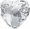 Swarovski 3259 Heart Sew-on Crystal 16mm