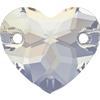 Swarovski 3259 Heart Sew-on White Opal 12mm