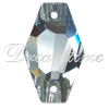 Swarovski 3261 Hexagon Sew-on Crystal 28mm