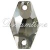 Swarovski 3261 Hexagon Sew-on Crystal Silver Shade 18mm