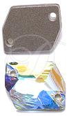 Swarovski 3265 Cosmic Sew-on Crystal AB 20x16mm
