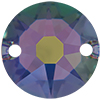 Swarovski 3288 Xirius Sew-on Crystal Paradise Shine 8mm