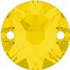 Swarovski 3288 Xirius Sew-on Yellow Opal 10mm