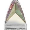 Swarovski 3296 Square Spike Sew-on Crystal AB 10mm