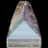Swarovski 3296 Square Spike Sew-on Black Diamond Shimmer 10mm