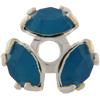 Swarovski 37903 Bead Cap pp32 Caribbean Blue Opal