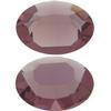Swarovski 4100 Oval Fancy Stone Amethyst (Unfoiled) 12x10mm
