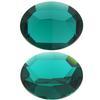 Swarovski 4100 Oval Fancy Stone Emerald (Unfoiled) 14x10mm