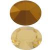 Swarovski 4100 Oval Fancy Stone 10x8mm Jonquil