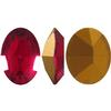 Swarovski 4100 Oval Fancy Stone Ruby 10x8mm