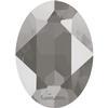 Swarovski 4120 Oval Fancy Stone Crystal Dark Grey 14x10mm