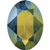 Swarovski 4120 Oval Fancy Stone Crystal Iridescent Green 6x4mm