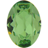 Swarovski 4120 Oval Fancy Stone Peridot 18x13mm