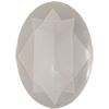 Swarovski 4120 Oval Fancy Stone Crystal Powder Grey 6x4mm