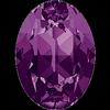 Dreamtime Crystal DC 4120 Oval Fancy Stone Amethyst 18x13mm