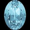 Dreamtime Crystal DC 4120 Oval Fancy Stone Aquamarine 14x10mm
