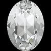 Dreamtime Crystal DC 4120 Oval Fancy Stone Crystal 14x10mm