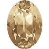 Dreamtime Crystal DC 4120 Oval Fancy Stone Crystal Golden Shadow 14x10mm