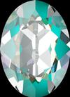 Dreamtime Crystal DC 4120 Oval Fancy Stone Crystal Laguna DeLite 14x10mm