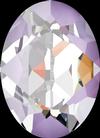 Dreamtime Crystal DC 4120 Oval Fancy Stone Crystal Lavender DeLite 14x10mm