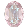 Dreamtime Crystal DC 4120 Oval Fancy Stone Crystal Dusty Pink DeLite 14x10mm