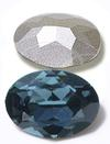 Swarovski 4120 Oval Fancy Stone Montana 18x13mm