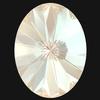 Swarovski 4122 Oval Rivoli Fancy Stone Crystal Ivory Cream DeLite 14x10.5mm