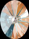 Swarovski 4122 Oval Rivoli Fancy Stone Crystal Peach DeLite 8x6mm