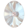 Swarovski 4122 Oval Rivoli Fancy Stone Crystal Dusty Pink DeLite 14x10.5mm