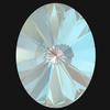 Swarovski 4122 Oval Rivoli Fancy Stone Crystal Serene Gray DeLite 14x10.5mm