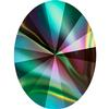 Swarovski 4122 Oval Rivoli Fancy Stone Crystal Rainbow Dark 18x13.5mm