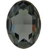 Swarovski 4127 Large Oval Fancy Stone Black Diamond 30x22mm