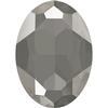 Swarovski 4127 Large Oval Fancy Stone Crystal Dark Grey 30x22mm