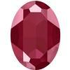Swarovski 4127 Large Oval Fancy Stone Crystal Dark Red 30x22mm