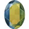 Swarovski 4127 Large Oval Fancy Stone Crystal Iridescent Green 30x22mm