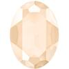 Swarovski 4127 Large Oval Fancy Stone Crystal Ivory Cream 30x22mm
