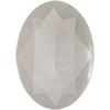 Swarovski 4127 Large Oval Fancy Stone Crystal Powder Grey 30x22mm