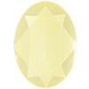 Swarovski 4127 Large Oval Fancy Stone Crystal Powder Yellow 30x22mm